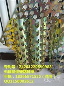 供应304不锈钢防爬刺镀锌管道防爬刺厂家