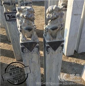 供��青石雕刻仿古石雕石�{子拴�R�吨�子�[件