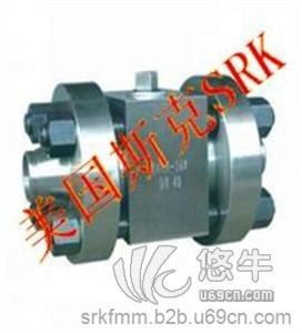 供应美国斯克SRKQ进口高压对焊球阀进口高压对焊球阀《图