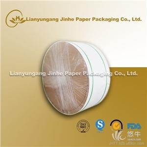 供应连云港金荷生产销售FSC淋膜纸/本色纸盘纸餐盒食品级牛皮纸淋膜纸