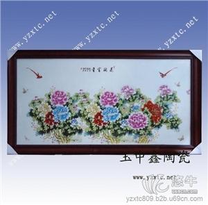 供应高档手绘瓷板画现代瓷板画
