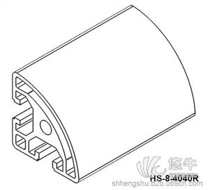 供应4040R工业铝型材