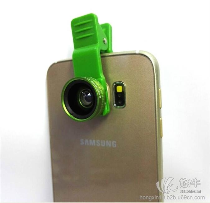 0.65X广角手机通用外置附加镜头