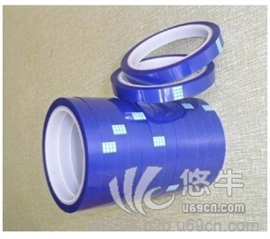 供应耐高温PET绝缘胶带蓝色硅胶带