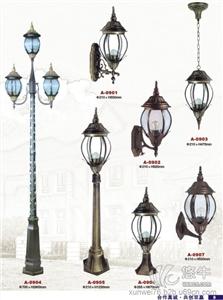 供应LED庭院灯压铸路灯欧式多头庭院灯