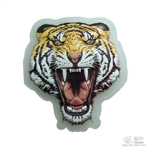 专业厂家生产韩版文具礼品卡通贴纸硅胶立体贴纸笔记本电脑装饰贴纸