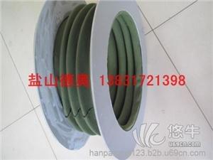 供应硅胶布法兰式帆布高温风机软连接、机械设备高温通风软连接