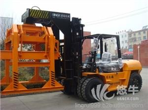 供应叉车式7吨抱砖车红砖抱砖车叉车装砖