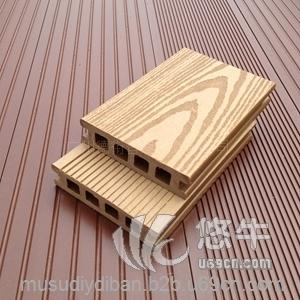 塑木pe地板防滑防潮地板100h25室外木地板木塑复合