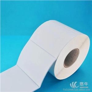供应100*70mm*500张不干胶标签打印纸条码贴纸