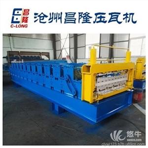 供应买到就赚到河南专供840900双层压瓦机周口推荐双层压瓦机
