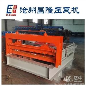 供应1.5米校平分条一体机压瓦机彩钢设备压瓦机昌隆专业生产