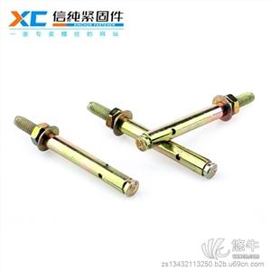 供应信纯镀彩锌膨胀螺栓