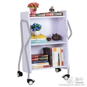 兆庭木制高档书车阅览室移动推车可拆卸实木推车RCA-SW01