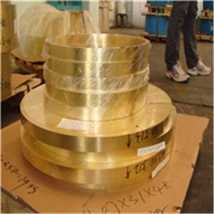 供应拉伸C2680黄铜带、剪切C2600黄铜片、黄铜圆片0.2mm