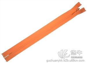 供应河南正品YKK拉链交期YKK3#尼龙隐形闭口拉链销售