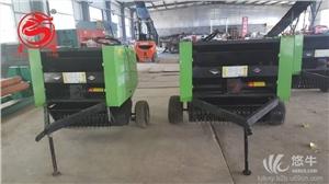 供应安徽稻草秸秆打包机小型打捆机