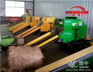供应全自动玉米秸秆青贮打捆机