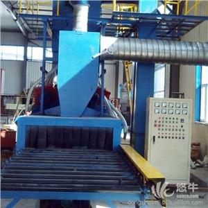 供应品质保证抛丸机厂家东兴高品质汽车轮毂抛丸机