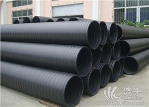 供应厂家现货统塑HDPE中空壁缠绕管排水排污缠绕管