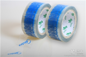 供应顺德透明底印字印刷胶粘带