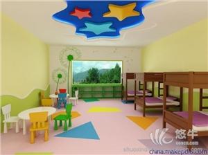 供应硕兴环保耐磨幼儿园PVC地板
