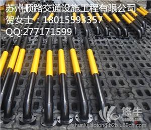 供应常熟镀锌管车轮定位器价格苏州挡车器厂家定做吴江车轮杠安装吴江车位防撞杆
