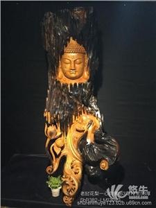 供应老挝花梨一心向佛木雕佛像摆件观音如来