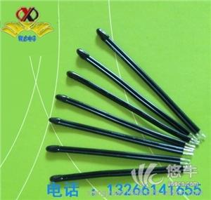 供应小黑头温度传感器NTC锂电池风扇温度探头热敏电阻器