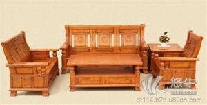 供应天然香樟木沙发组合客厅五件套樟木实木沙发厂家直销