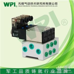 供应无锡厂家先导式5通汇流版型电磁阀M3KB2可定制