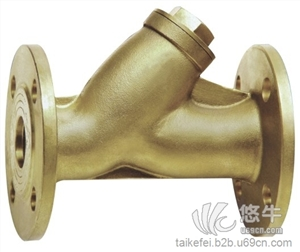 供应泰科菲法兰式铜过滤器TECOFI