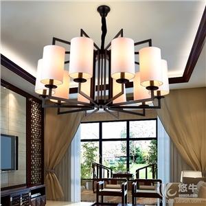 供应新中式吊灯铁艺简约卧室客厅酒店大堂客房