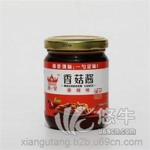 供应兴利香菇酱香辣味瓶装210g/瓶拌面拌饭酱辣椒酱调味酱荆楚风味