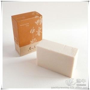 供应茶山房手工皂盒手工皂包装上海手工皂包装盒
