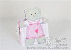 泰迪熊礼品袋