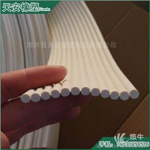 供应盐浴硫化白色橡胶密封圈EPDM橡胶白色圆形密封条