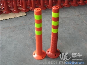 供应弹性警示柱、弹力柱