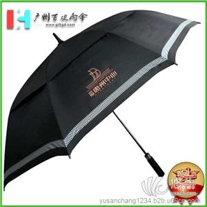 供应雨伞厂荣灿惠州中心高尔夫雨伞_双层加大雨伞_高档礼品雨伞