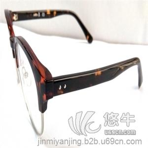 供应复古金属眼镜框|近视镜框男|丹阳眼镜厂一件代发