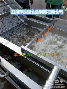 供应全自动不锈钢SUS304海带丝清洗机