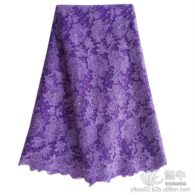 水溶蕾丝面料牛奶丝绣花布精致特色时尚多色重工刺