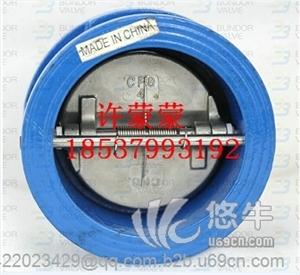 供应【厂家直销】HC41X消声止回阀铸铁法兰止回阀DN100