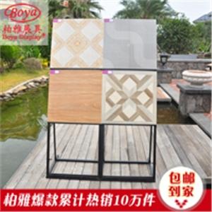 供应陶瓷展具瓷砖展架瓷片展架木地板展架