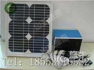 供应山东绿倍10-100w直流家用照明手机充电系统太阳能发电机太阳能充电器