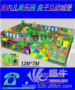 供应浩奇游乐hq-8564内儿童乐园淘气堡