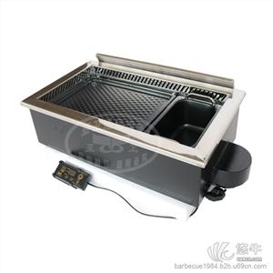 供应加长版方形韩式烤涮炉630