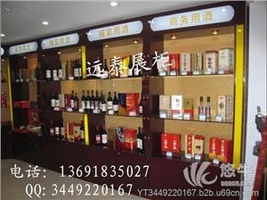 供应深圳高档时尚烟酒红酒白酒展示柜制作工厂