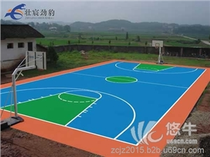 供应开平丙烯酸篮球场地面翻新涂料施工有限公司