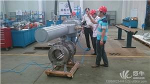 供应气动v型调节球阀进口气动球阀法兰式气动V型球阀厂家直销